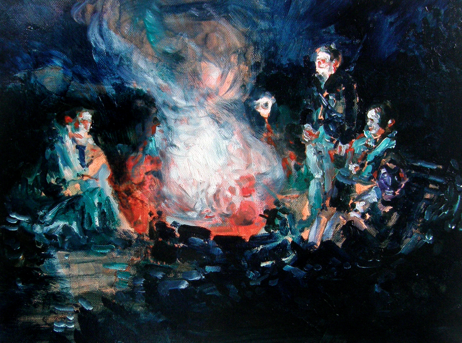 Ulrike Theusner Burning Mickey Mouse